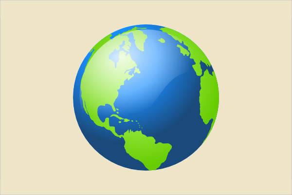 Simple Earth Clipart