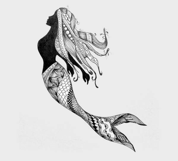 11 Mermaid Drawings Jpg Download