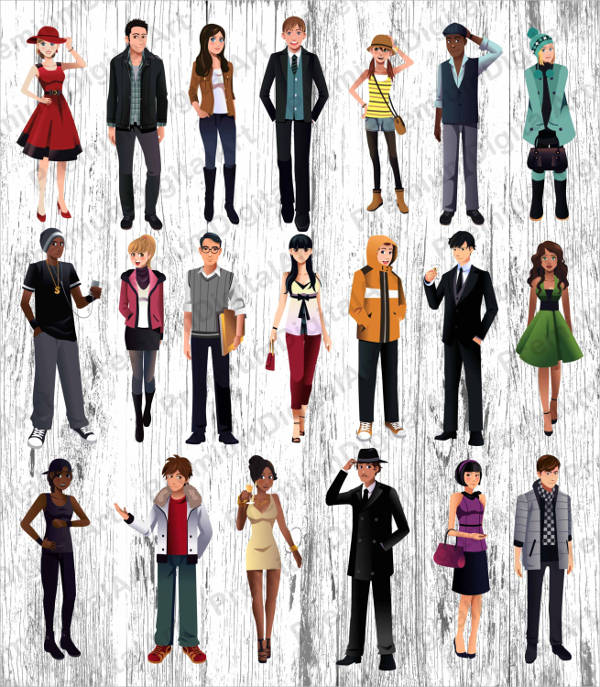 8+ People Cliparts - Free Vector EPS, JPG, PNG Format Download
