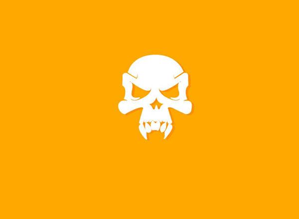 Simple Skull Logo