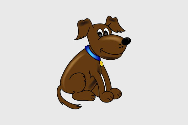 Sitting Dog Clipart