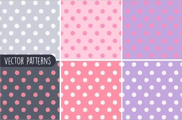 Sketchy Polka Dots Pattern