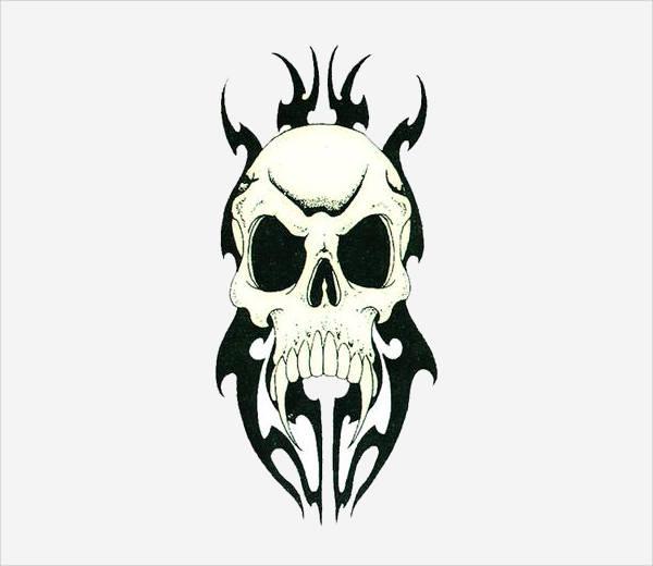Skull Clipart Design