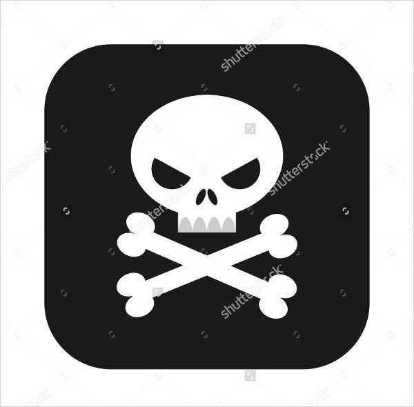 Skull Cross Bones Design