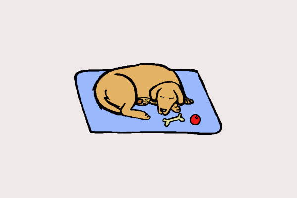 Sleeping Dog Clipart