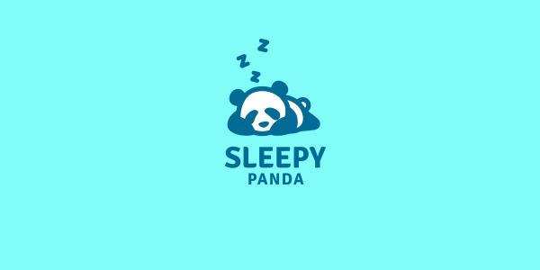 Sleeping Panda Logo