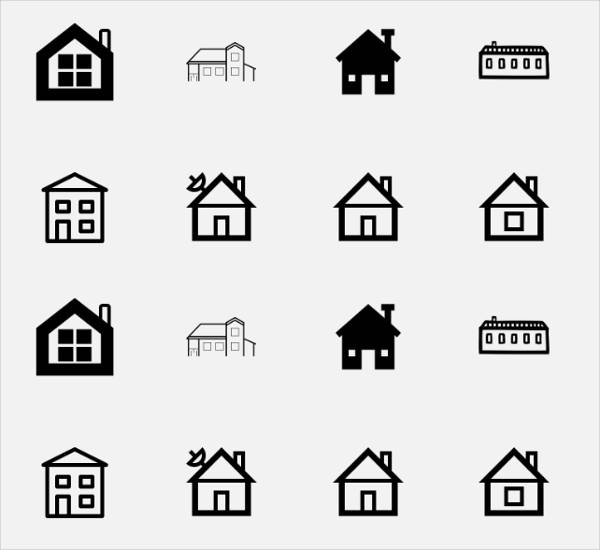 Small House Icons