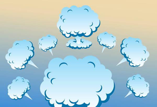 Smoke Cloud Vector