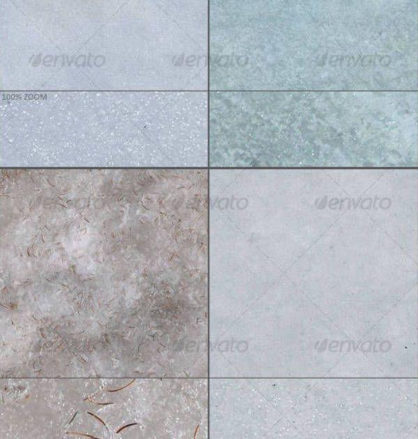 Snow Texture Set