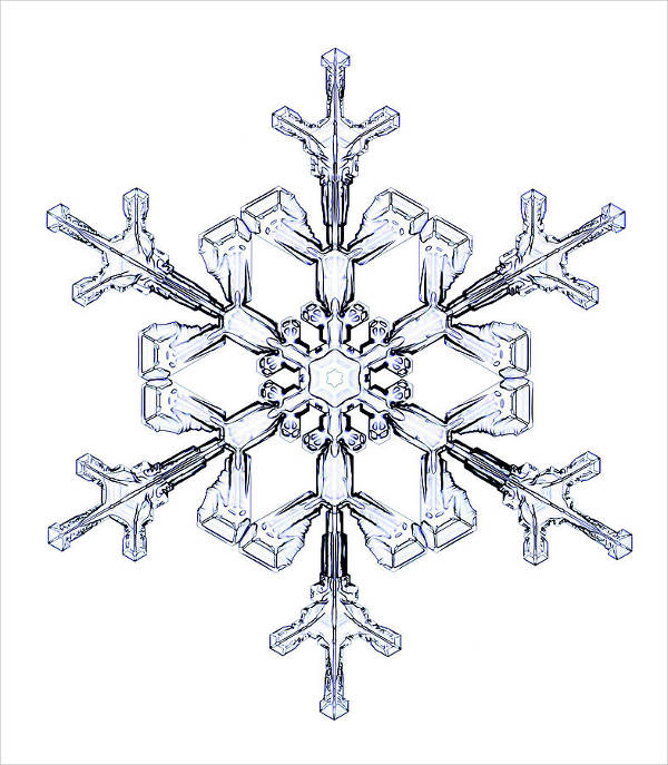 9+ Snowflake Drawings - JPG Download