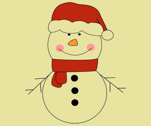 Snowman Hat Clipart