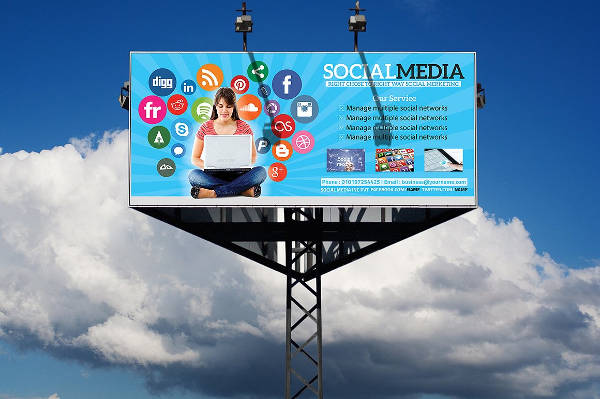 Socail Media Billboard Advertising
