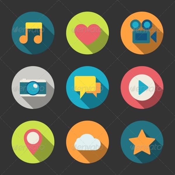 Social Media Blog Icons