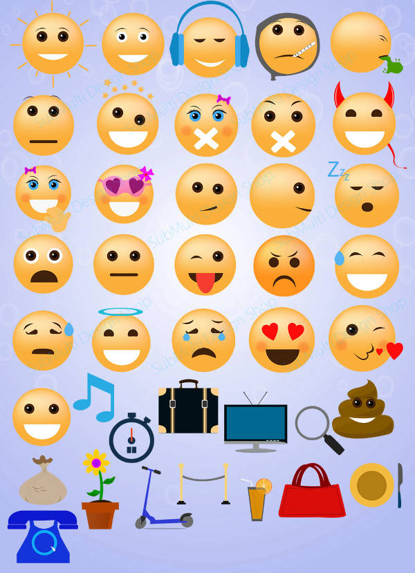 Social Media Emoji Design