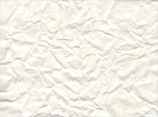 Soft Crumpled Paper Texture