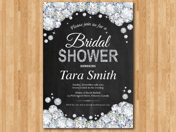 Sparkle Bridal Shower Invitation