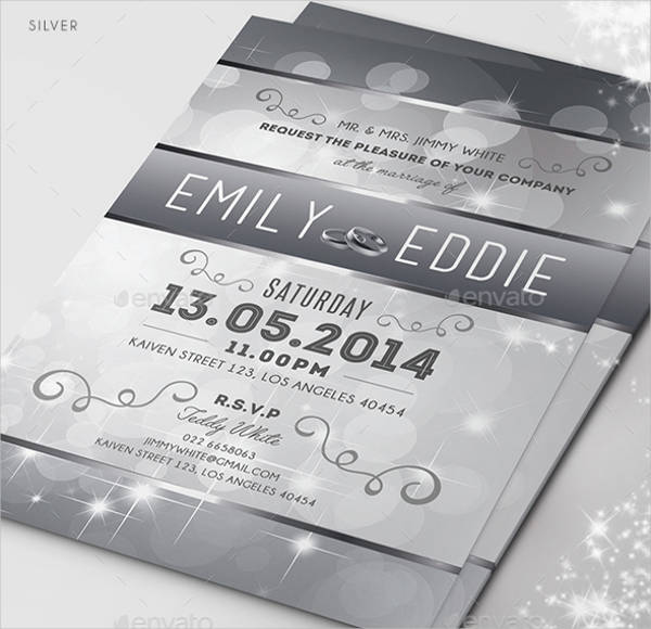 Sparkle Wedding Invitation