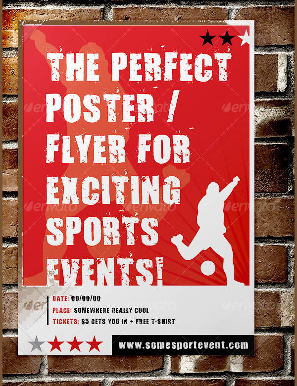 Sports Event Poster