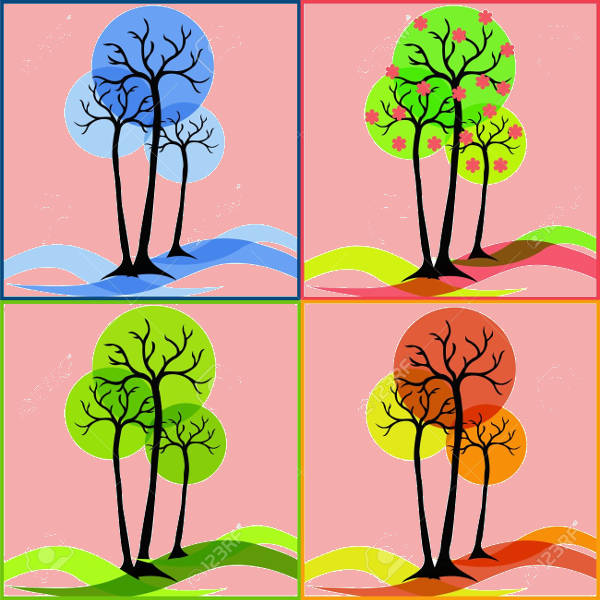 Spring Fall Clipart