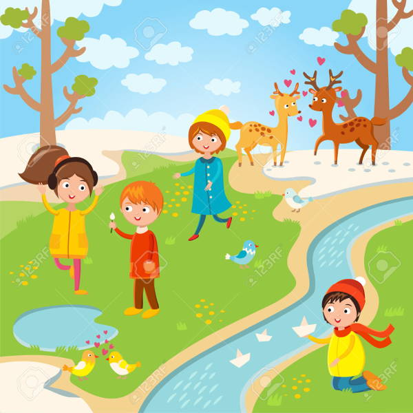 Spring Image for Kids