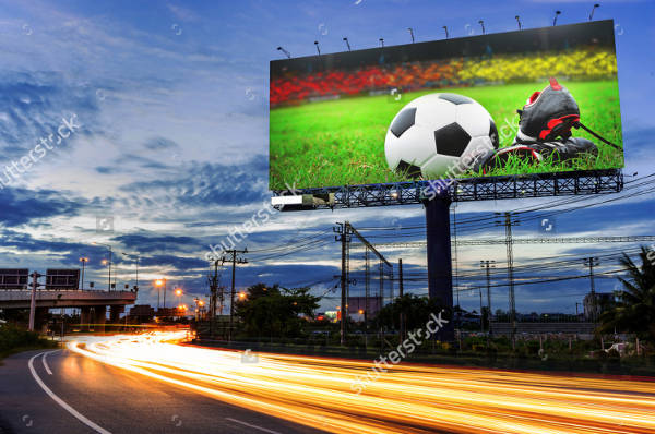 Stadium Billboard Advertising