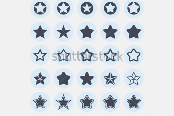 Star Flat Icons