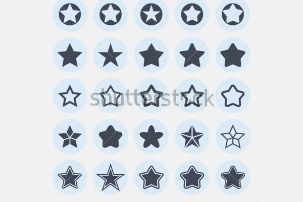 Star Flat Icons