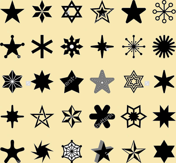 Star Outline Icons