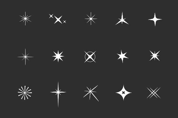 Star Sparkle Icons