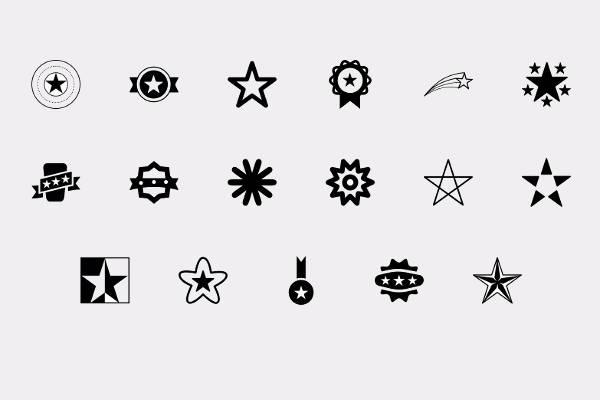 Star Symbol Icons