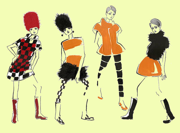 Street Fashion Illustration