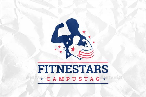 Super Fitness Logo Vector