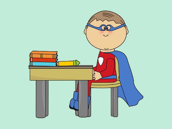 Superhero Clip Art for Teachers