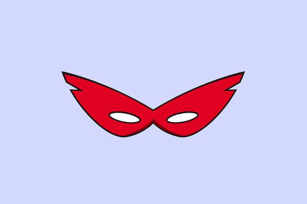 Superhero Mask Clip Art