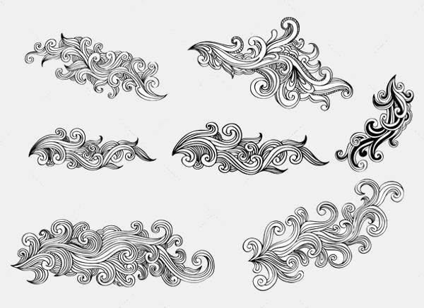 swirl design elements