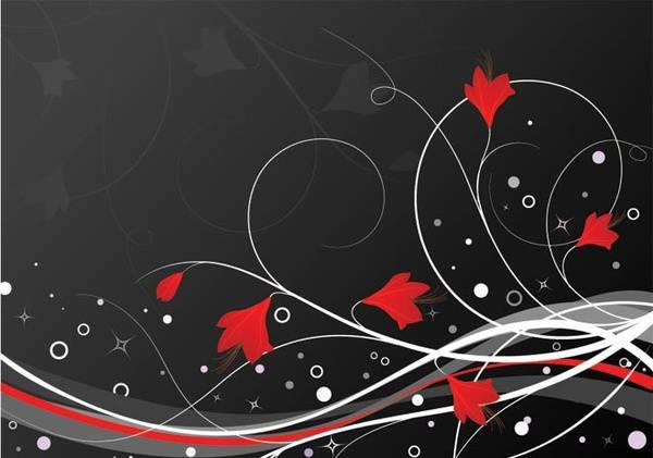 Swirl Floral Design
