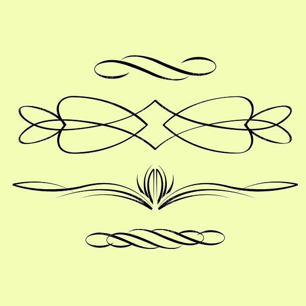Swirl Line Design