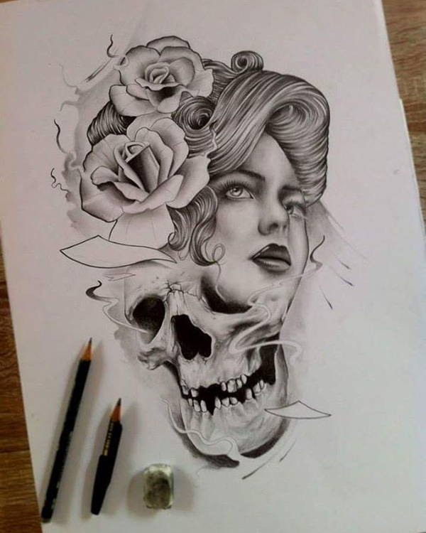 Tattoo Drawing for Girl