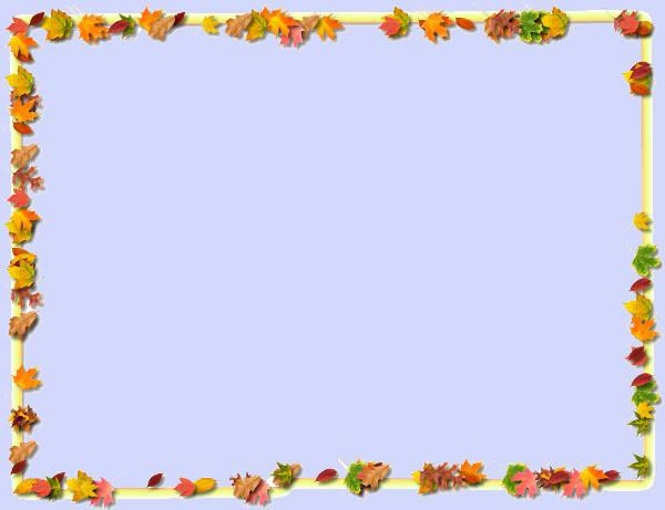 Thanksgiving Clip Art Border