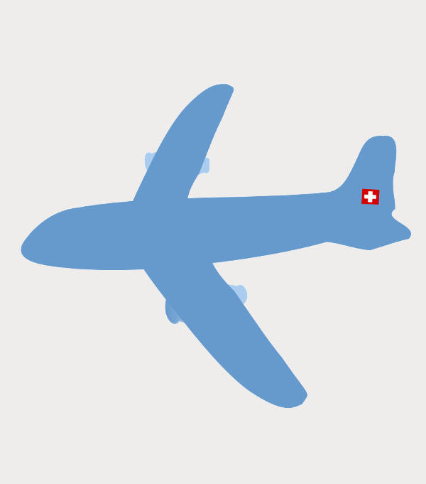 Transparent Airplane Clipart