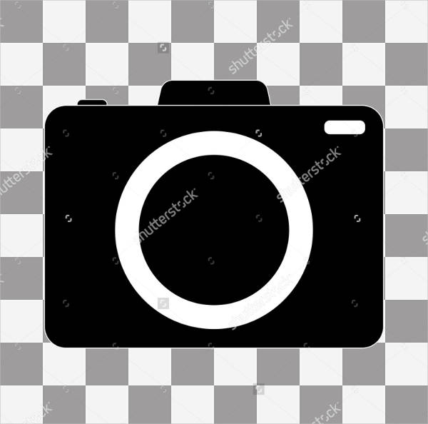 Transparent Camera Icon