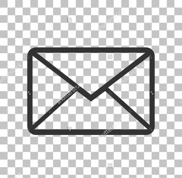 Transparent Email Icons