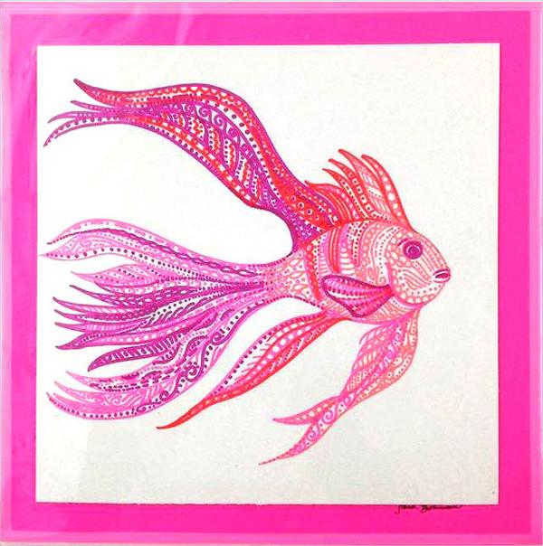 Tropical Fish Drawing