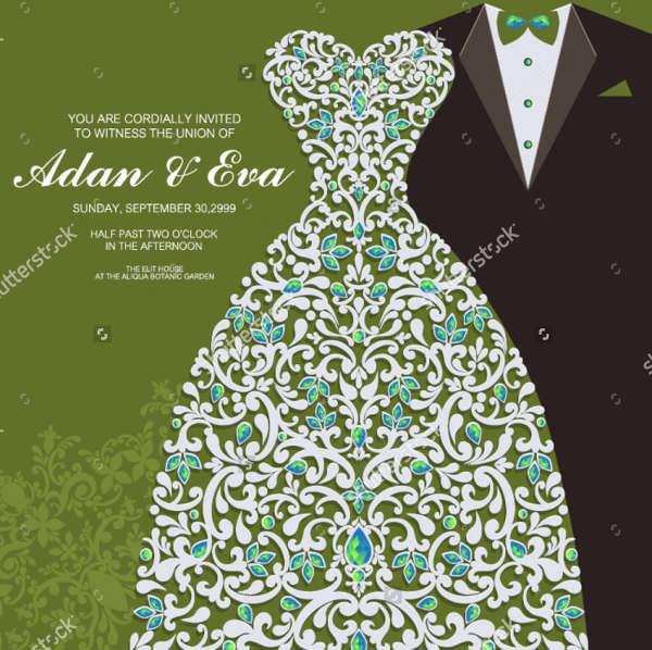 Unique Wedding Invitation Design