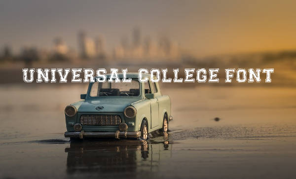Universal College Font