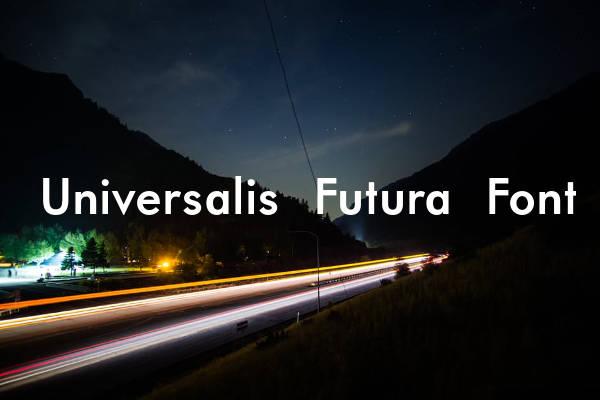 Universalis Futura Font