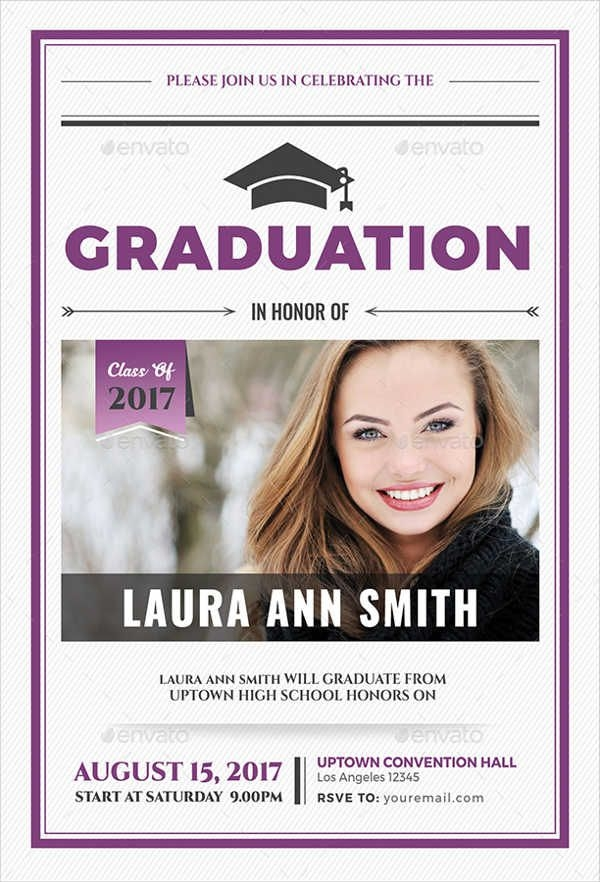 University Graduation Invitation Wording