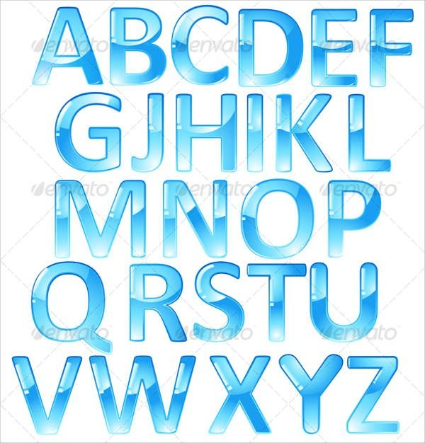 Uppercase Cool Letters