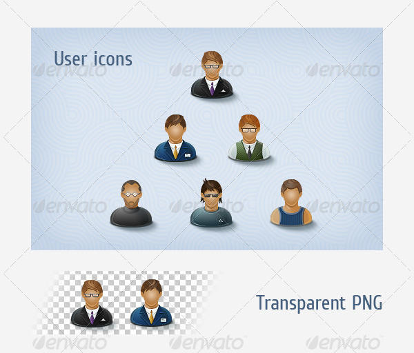 User Icon Set