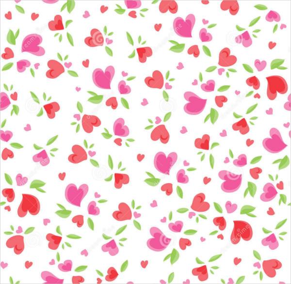Valentine Vintage Pattern